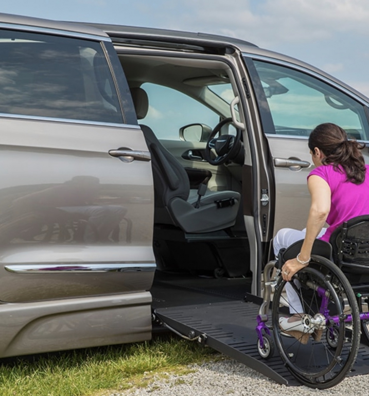 Chrysler Pacifica Van Conversions - BraunAbility 1