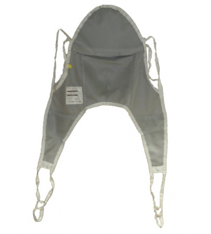 Nylon Mesh Bath Sling with Head Support 1