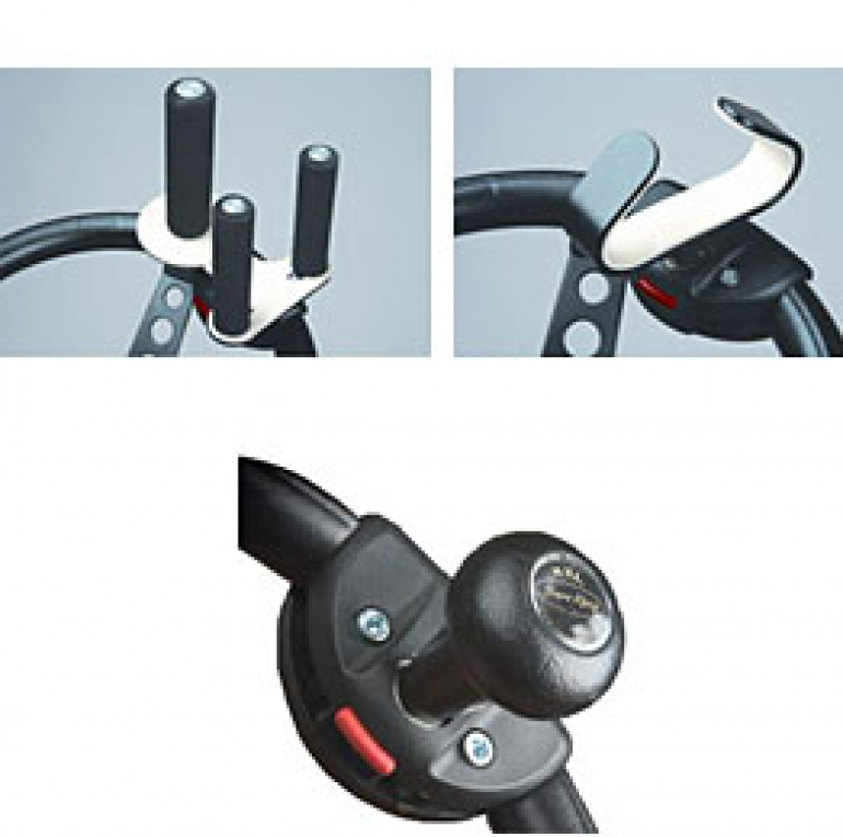 Different variations of the Sure Grip Steering Wheel Attachments 1